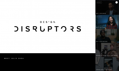 Design Disruptors, a new documentary by Invision