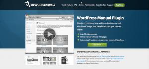 wp video user manual plugin